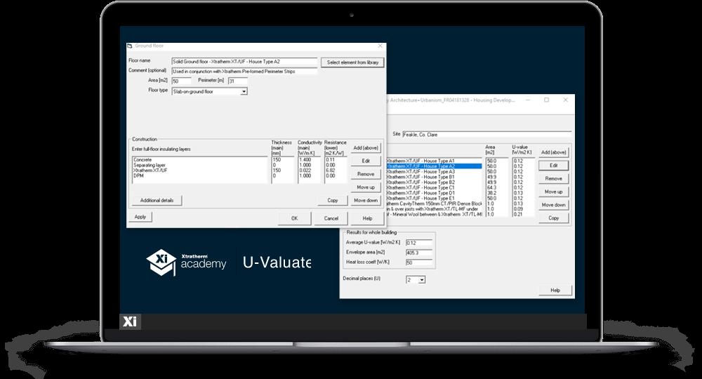 XI Academy U-Valuate laptop